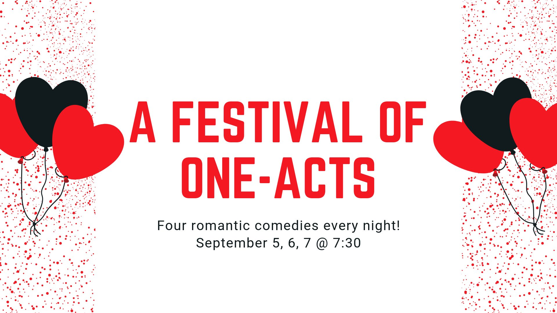 A Fall Festival of One Acts