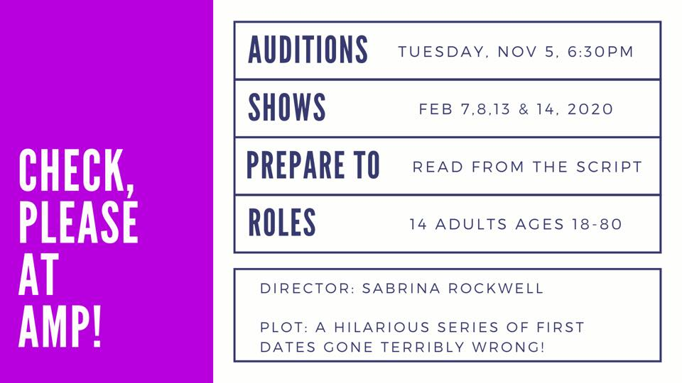 Check Please Auditions