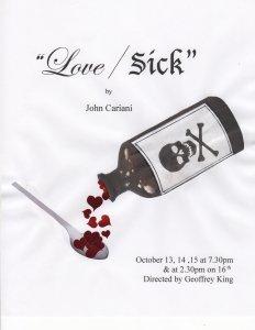 love/sick amelia musical playhouse