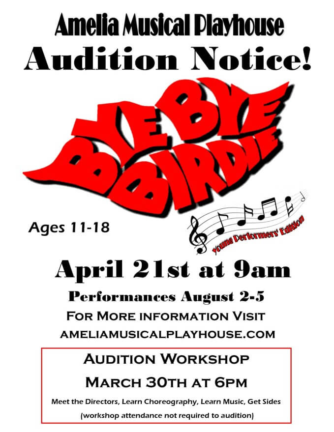 Auditions: Bye Bye Birdie
