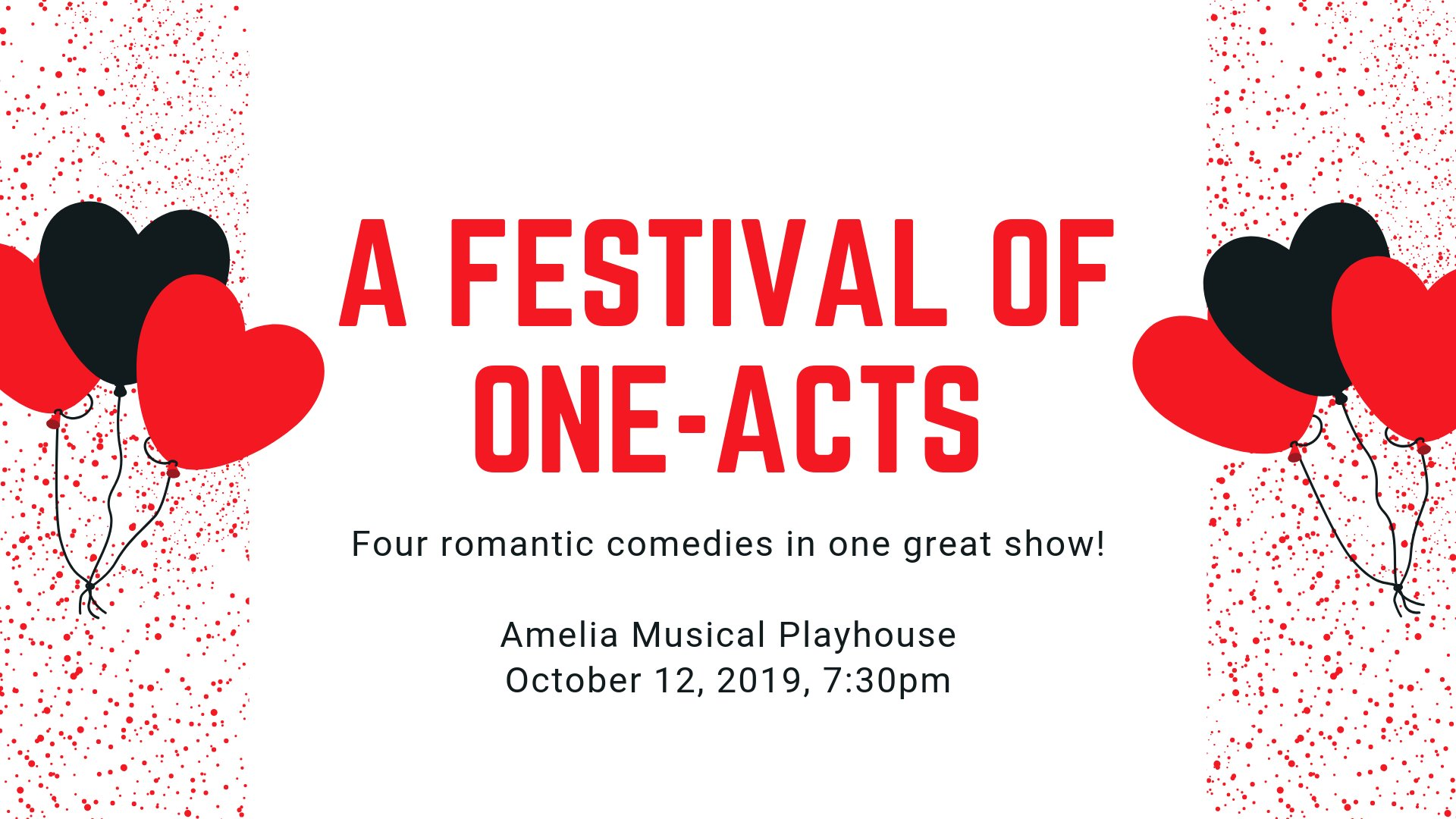 A Festival of One Acts