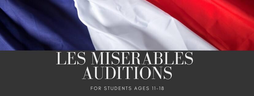 Auditions: Les Misérables (school edition)