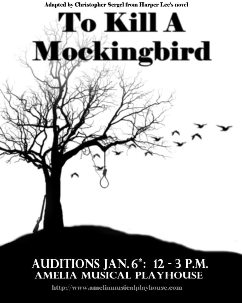 Auditions: To Kill a Mockingbird (Jan 6th) - Amelia Musical Playhouse